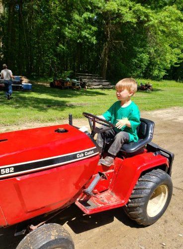Garden Tractor Pull – Jefferson County Fair
